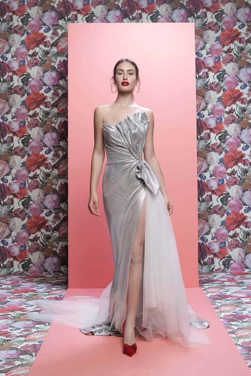 2a612e7d217 Galia Lahav Aden strapless gown