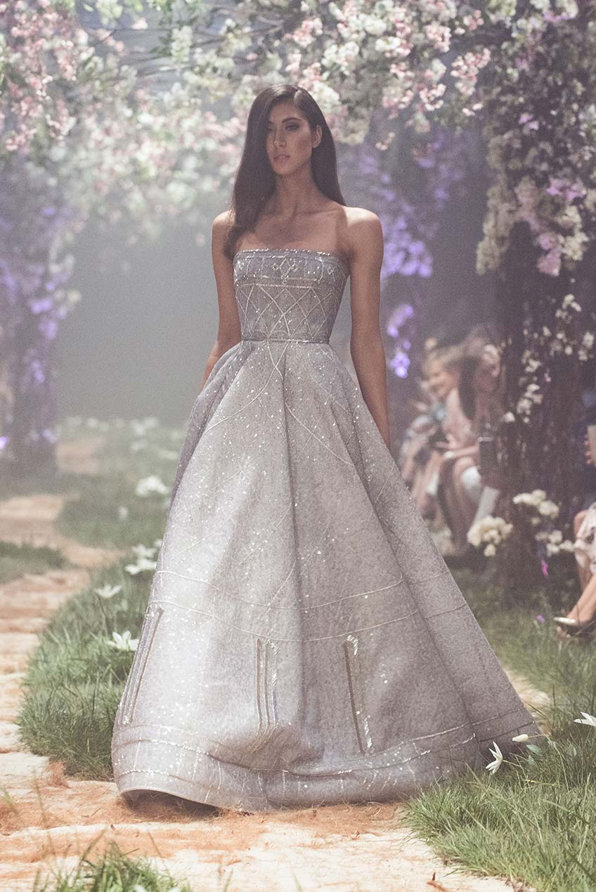 Paolo Sebastian the beaded ball gown