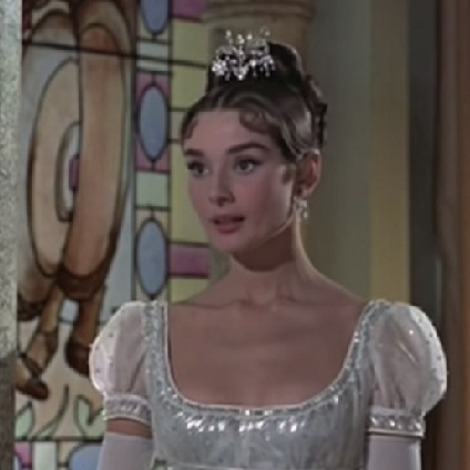 Tiara worn by Audrey Hepburn in the movie War and Peace