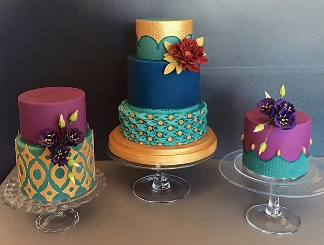 Jazzy wedding cakes to try