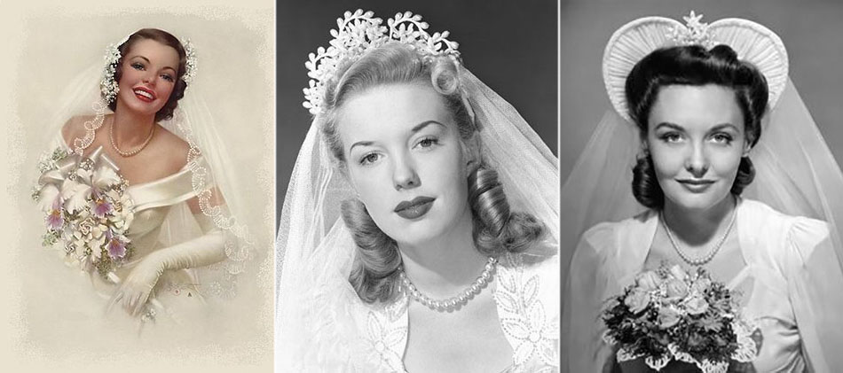 1940s headpieces and how to wear the veil