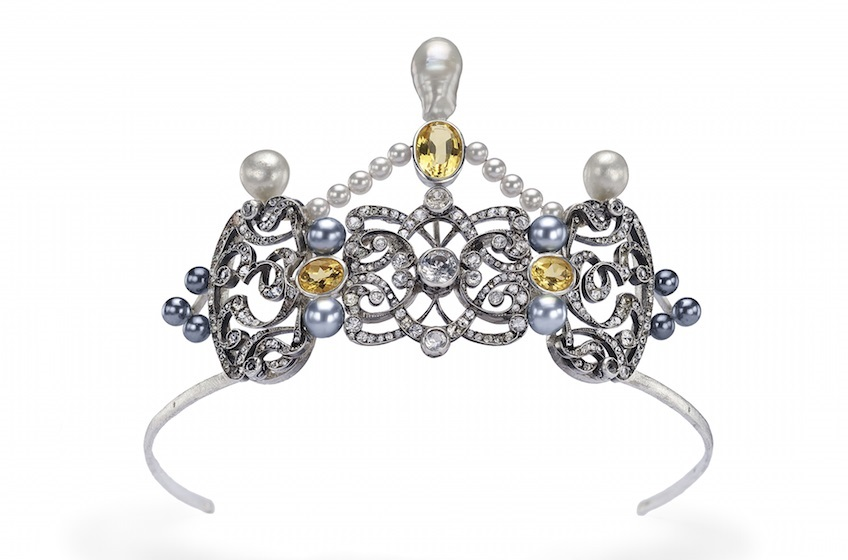 custom made in Italy Tiara