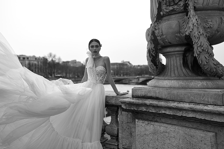 Julie Vino Bridal Collection Paris 2019