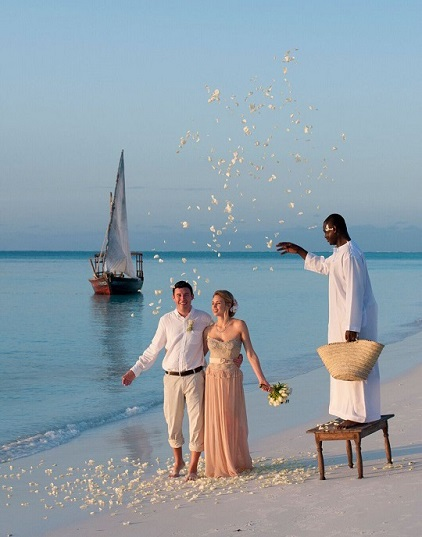 Just married in Paradise