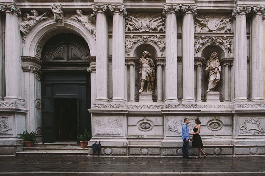 Couple in San Marco Venice