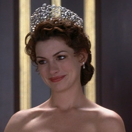 Tiara worn by Anne Hathaway in The Princess Diaries